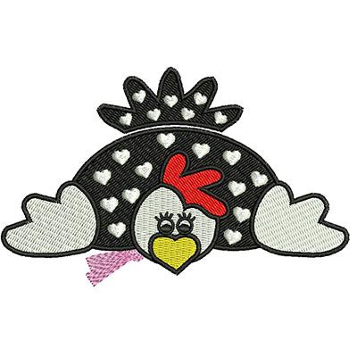 huntleya-meleagris-galinha